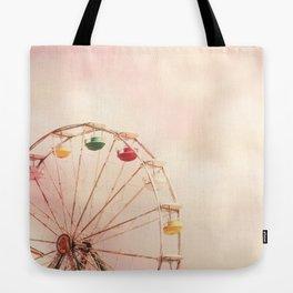Pink Ferris Wheel Tote Bag