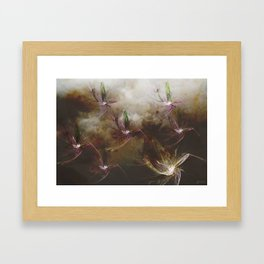 Dragon Flys Framed Art Print
