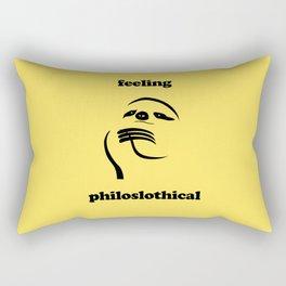Feeling Philoslothical Rectangular Pillow
