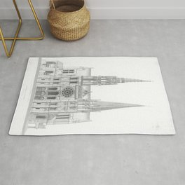 Cathedrale De Chartres Chartres Cathedral Rug