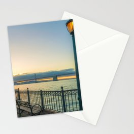 Morning at Pier 7 Stationery Cards