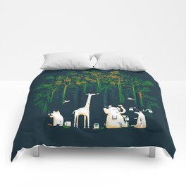 Re-paint the Forest Comforters