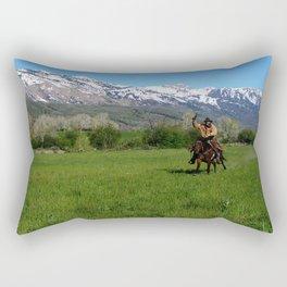 Ride On Ride On! Rectangular Pillow
