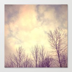 Her Bare Branches Waited for Spring Canvas Print