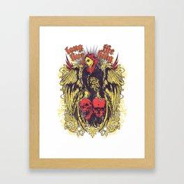 Long live the king Framed Art Print