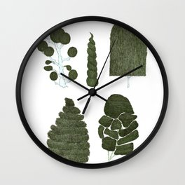 Living Sculpture Wall Clock
