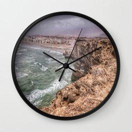 Taqah Beach Oman Wall Clock