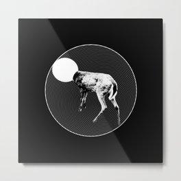 Deer Lord Metal Print