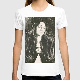 "Edvard Munch ""The Brooch. Eva Mudocci"", 1903 T-shirt"