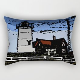 The lighthouse  Rectangular Pillow