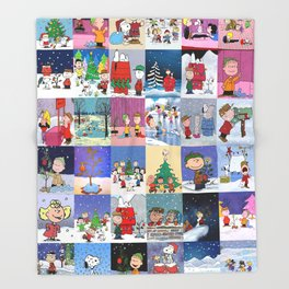 Peanuts Throw Blanket