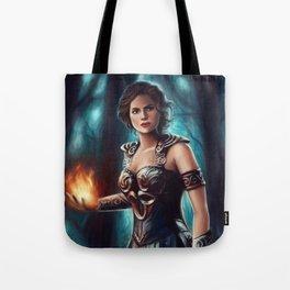 Warrior Queen Tote Bag