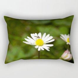 Flower Fly Rectangular Pillow