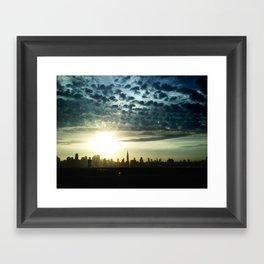 New York, NY Framed Art Print