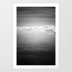 Blocking Rays Art Print