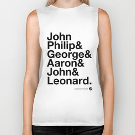 American Composers v2 Biker Tank