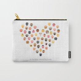 Vulva Heart - The Vulva Gallery Carry-All Pouch