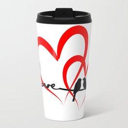 love bird Travel Mug