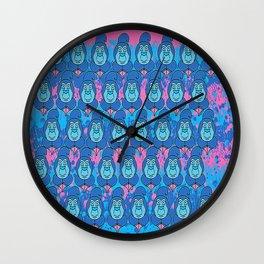 Absolem emoji Wall Clock