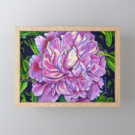 The Peony Framed Mini Art Print