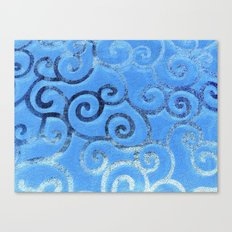 Waves Canvas Print
