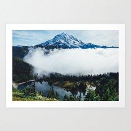 Tolmie Peak Art Print