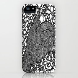 Grasping for Pearls iPhone Case