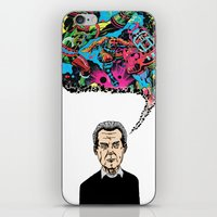 kirby iPhone & iPod Skins featuring Jack Kirby by Miguel Villasanta
