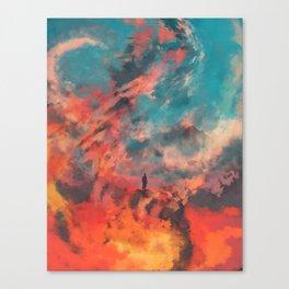 Ashes of Gomorrah Canvas Print