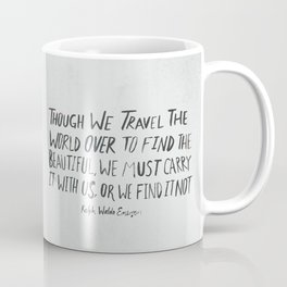 Ralph Waldo Emerson: Beautiful Coffee Mug