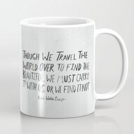 Ralph Waldo Emerson: Beautiful Coffee Mug