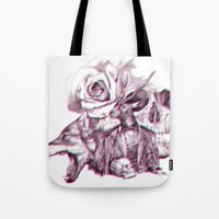 3d Tote Bags featuring 3D by dogooder