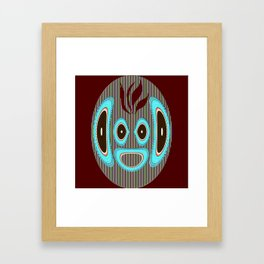 Listening.... Framed Art Print