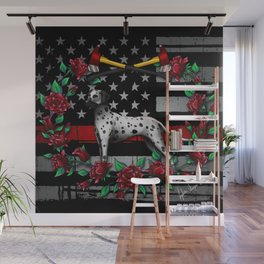 Thin Red Line USA Version Wall Mural