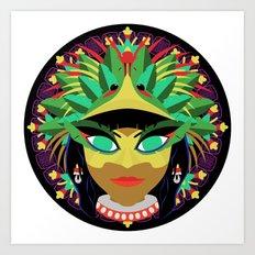 Xochiquetzal Art Print
