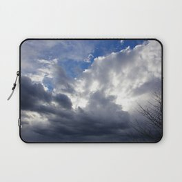 Cloudy Sky  Laptop Sleeve