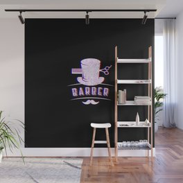 Barber Vintage Classic Barber Retro Distressed Gift Wall Mural