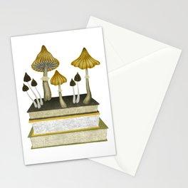 floral reading v Stationery Cards