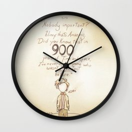 900 Years [A Scribble] Wall Clock