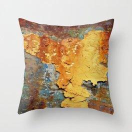 Colors of Rust 894 / ROSTart Throw Pillow
