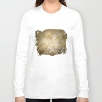 antique Long Sleeve T-shirts featuring Antique Floral by DebS Digs Photo Art