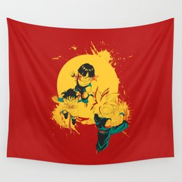 Kid Gohan Wall Tapestry