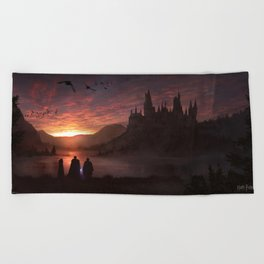 Hogwarts Beach Towel