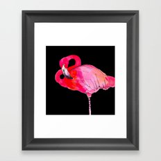 Fancy Flamingo Framed Art Print