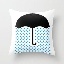 No Luck Throw Pillow