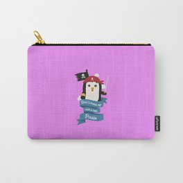 Dont mess up with a pirate T-Shirt Dtsvi Carry-All Pouch