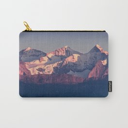 Three Peaks in Violet Sunset Carry-All Pouch