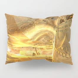 Open Furnace in Space Pillow Sham