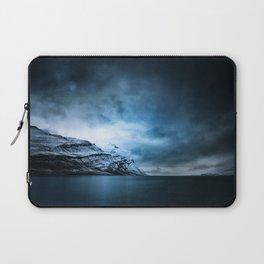 The Arctic - Storm Over Still Water Laptop Sleeve