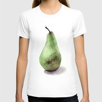 pear T-shirts featuring Pear  by Bridget Davidson